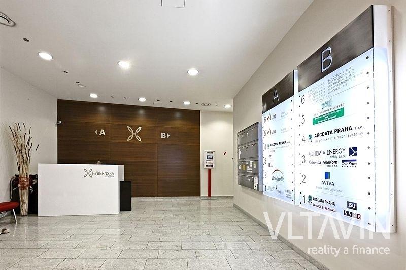 Pronájem kanceláří Praha 1, Hybernská - 289 m2